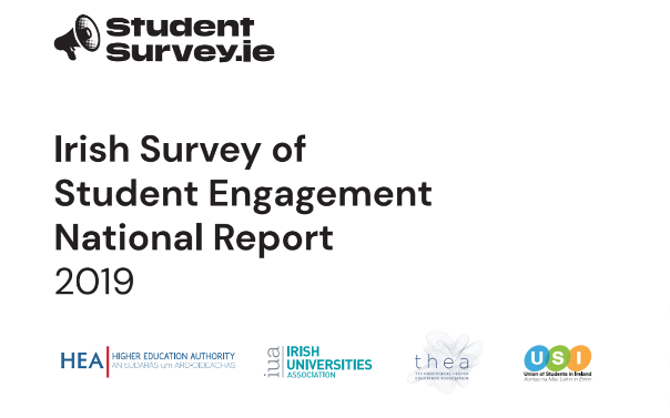 2019 Irish Survey of Student Engagement - Results published today 24 October 2019